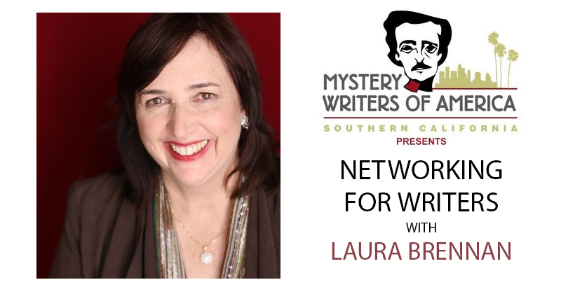 Laura Brennan will discuss Networking for Writers on August 19, 2021 via Crowdcast